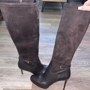 Dark brown Michael kors heel boots